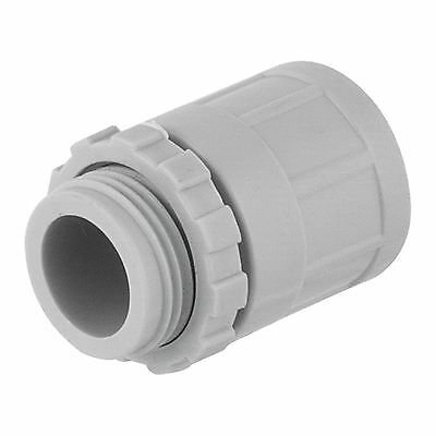 PVC Plain to Screw Conduit Coupling - 25mm(20 pcs/bag)