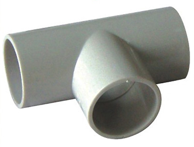 PVC Tee Conduit Fitting - 25mm(20 pcs/bag)