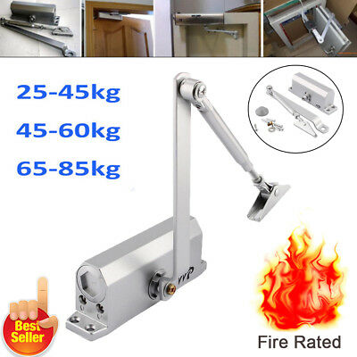 Heavy Duty Fire Rated Overhead Door Opener&closer Soft Close 45~80Kg Adjustable
