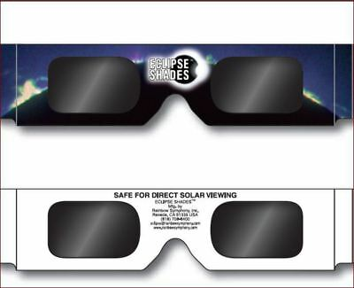 Solar eclipse shades for safe solar viewing - USA made to CE standards