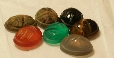 Scarab craved Genuine Egyptian Gemstones