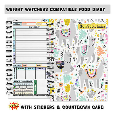 food diary diet slimming world compatible tracker journal note book log cover 10