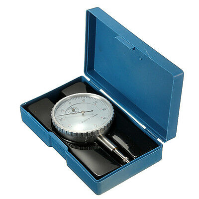0-10mm Precision 0.01mm Accuracy Measurement Instrument Dial Indicator Gauge NEW