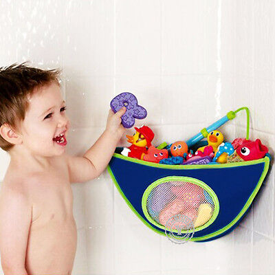 Kids Baby Peli Play Pouch Baby Bath Toy Tidy Organiser Net Mesh Storage Bag New
