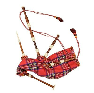 Scottish Highland Parlor Pipes-Mini/Kitchen Pipes Bagpipe Practice Set
