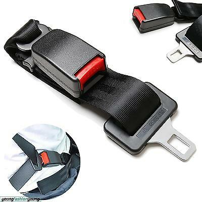 25~65 Cm Extender Buckle Adjustable Car Auto Safety Seat Belt Seatbelt Extension