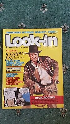 Comic. Look-in Comic 8 August 1981.