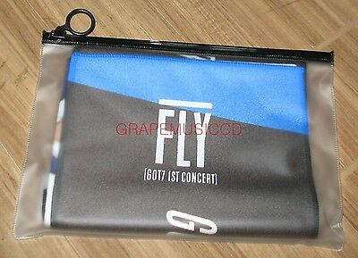 Got7 Got 7 1St Concert Fly Official Goods Photo Slogan Towel Sealed