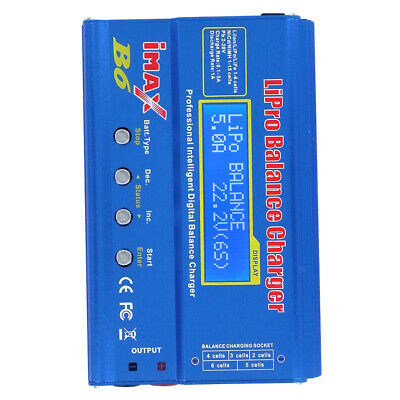 IMAX B6 Mini Balance Charger Discharger LIPO For RC Drone Battery Charging