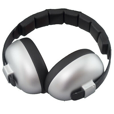 Banz Baby Noise Attenuating Defenders Mini Ear-Muffs 0 - 2 years Silver