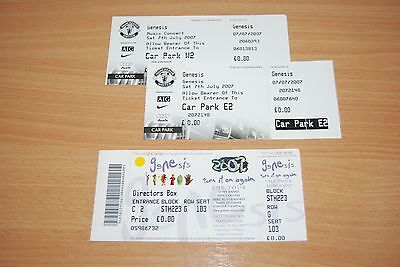 Genesis - Very Rare Uk 2007 Promoters Ticket (£0.00) Manchester Old Trafford