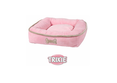 Trixie Panier Barby, Chien Chat , 50X50Cm, Rose Rose (C40)