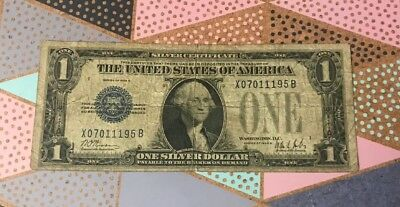 1928 $1.00 Silver Certificate Paper Money Lot Average Circulated