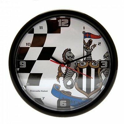 Newcastle United FC Wall Clock - Chequered Official Licensed Football Fan Gift
