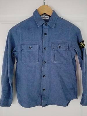 STONE ISLAND camicia chemise camisa hemd cotton bambino child kid baby 10 years
