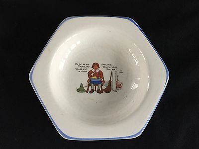 Vintage Nursery Rhyme Little Jack Horner Bank Of Canton Ohio Change Dish China