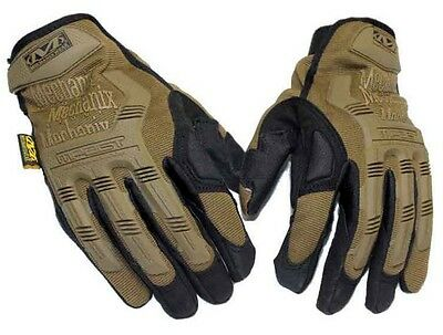 Mechanix Wear M-Pact Coyote Brown Tactical Gloves with XRD MPT-72-011 - Size XL