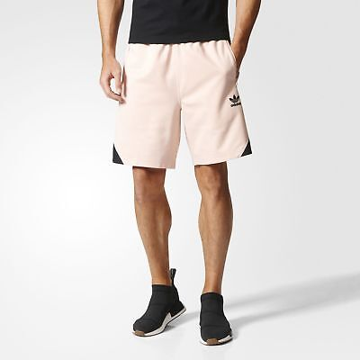 adidas Ornamental Block Shorts Men's Pink
