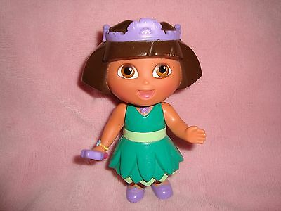 "Dora The Explorer Fairy Princess 2006 Mattel PVC figure 5"" tall"