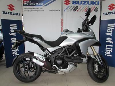 Ducati Multistrada 1200 Abs And Traction Control And 3 Box Ducati Luggage