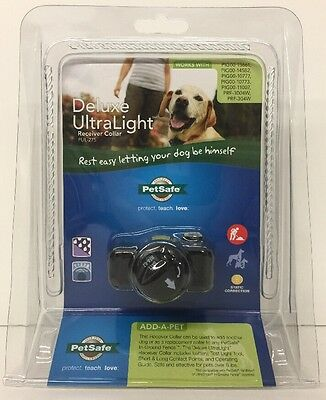 (New) PetSafe PUL-275  In-Ground Deluxe Ultralight Collar with Radio Receiver