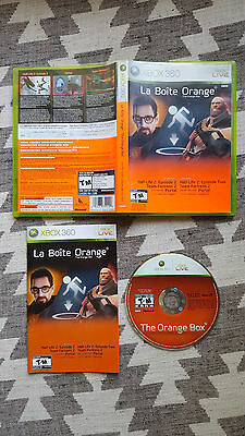 The Orange Box (Microsoft Xbox 360, 2007) - Complete in Box, Tested, Working