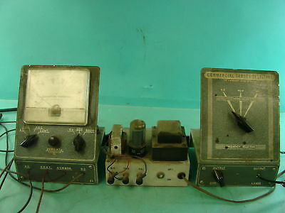 Vtg Commercial Trades Institute Vacuum Tube Voltmeter Frequency Signal Radio Kit