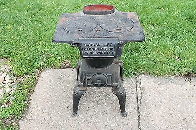 Vintage Jacobs-Art No. 7 Cast Iron Stove Bridgeport Alabama