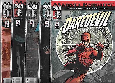 Daredevil Lot Of 5 - #26 #27 #28 #29 #30 (Nm-) Brian Michael Bendis