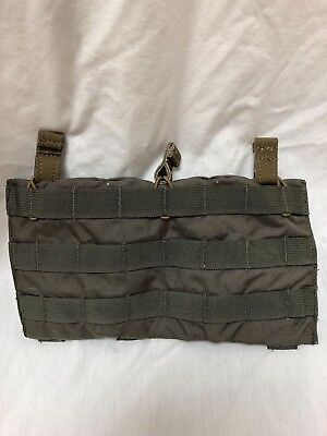Eagle Industries Ranger Green Triple Magazine Shingle Pouch Bungee Top RLCS LE