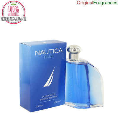 Nautica Blue Cologne For Men 3.4 oz 3.4oz 3.3 oz 100 ML .67 oz EDT Spray NEW NIB