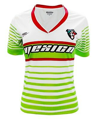 7f033d035 Mexico Women Soccer Jersey New With out Tags Color White V Neck Made in  Mexico