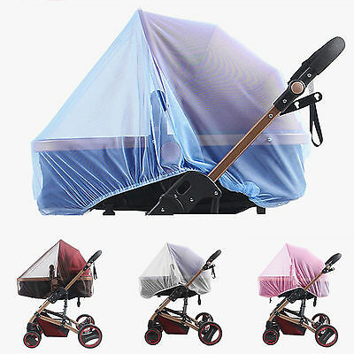 1PC Baby Buggy Pram Pushchair Stroller Fly Insect Protector Mosquito Cover Net