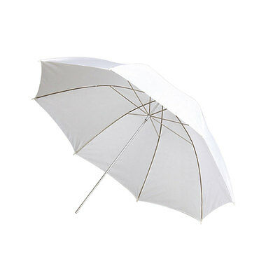 "33"" 84cm Soft White  Photography Translucent Umbrella for Studio Flash Strobe"