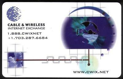 5m Cable & Wireless Internet Exchange Phone Card