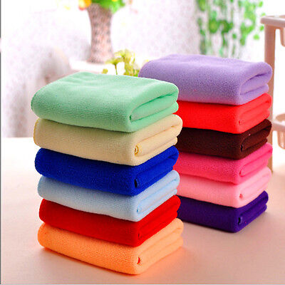 8x Multi-Color Soft Soothing Cotton Face Towel / Cleaning Wash Cloth Hand Towel