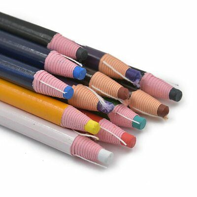 China Markers Peel Off Chinagraph Grease Wax Pencil For Metal Glass Fabric