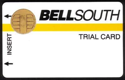 First Test / Trial Card With Bull Chip & Magnetic Stripe 1989 (Ty 2) Phone Card