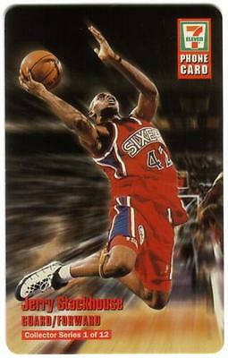 7-Eleven: 1997 Basketball: Complete Set of 12 Different Phone Card