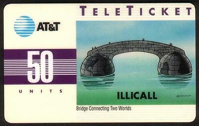 50u IlliCall (Overprint on Bridge Connecting Two Worlds Design) Phone Card