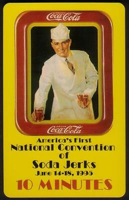 10m World of Coke: Soda Jerk Convention - 'Classic' LIVE 'SAMPLE/20' Phone Card