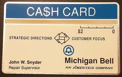 $2. 'Strategic Directions Customer Focus' Conference (With Name) Phone Card