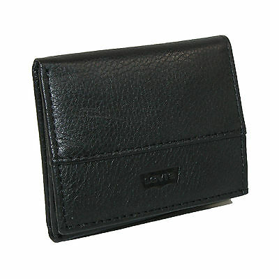 New Levis Boys' Leather Trifold Wallet