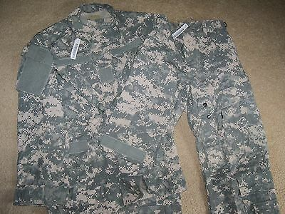 USGI A2CU Aircrew Uniform Set ACU UCP Aramid Jacket & Trousers Small - Short NWT