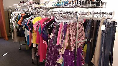 50 pieces of children girls and boys clothing lot. RESALE WHOLESALE THRIFT