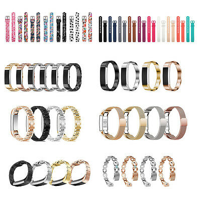 Various Replacement Wrist Strap Watch Band Accessory For Fitbit Alta HR*