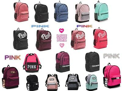 0563edd7053e NEW VICTORIA SECRET PINK Campus Backpack