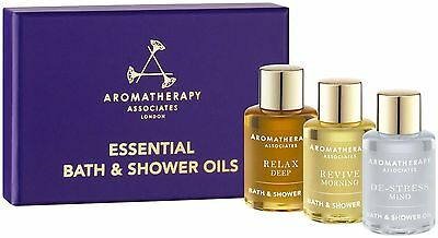 Aromatherapy Associates Essentials to Relax, De-stress and Revive