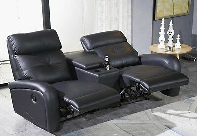 sofa couch leder schwarz eur 1 50 picclick de. Black Bedroom Furniture Sets. Home Design Ideas