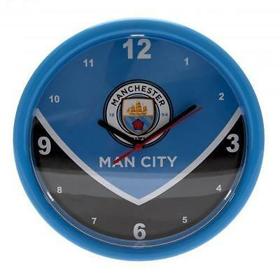 Manchester City FC Swoop Wall Clock Football Fan Gift Official Licensed